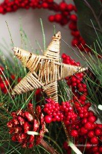 gwiazda dekoracja bożonarodzeniowa